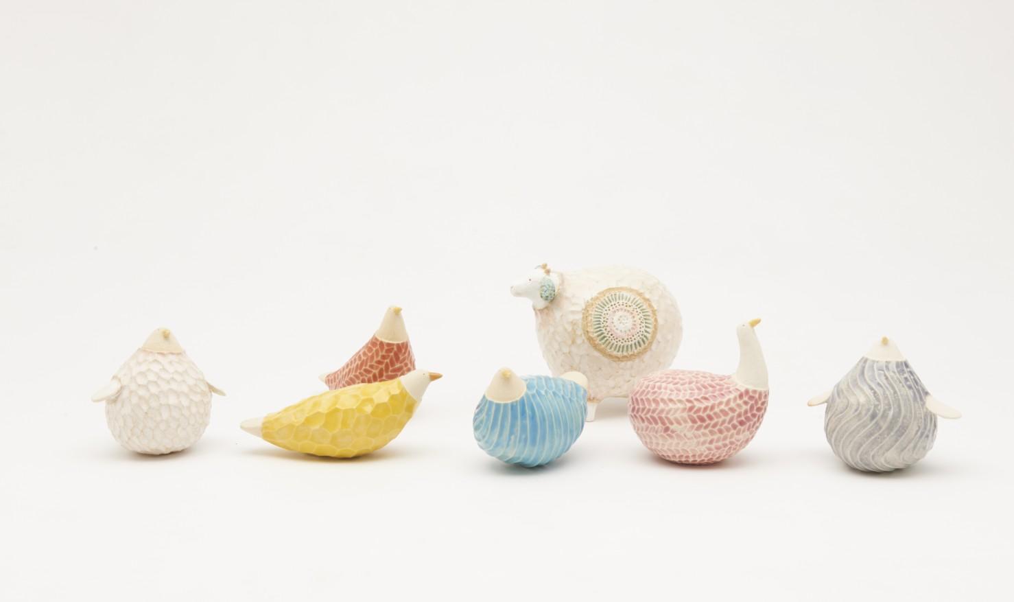 どうぶつカランコロン/いろとりどり by Natsuki Shibata / 柴田菜月