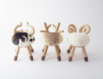 cow chair/sheep chair by kamina&C / kamina&C